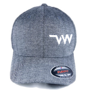 Casquette Flexfit Herribone grey Village Western