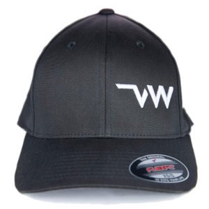 casquette Flexfit Wooly combed anthracite face