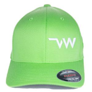 casquette Flexfit Wooly combed vert pomme