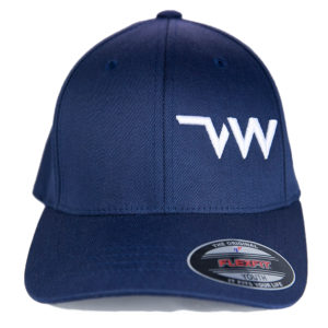 Casquette Flexfit Wolly combed marine Village Western