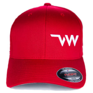 casquette Flexfit Wooly combed rouge face