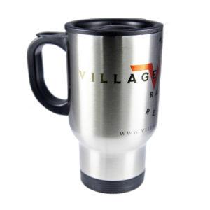 Mug isotherme Village Western côté