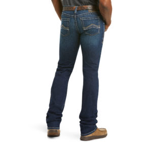 Jean homme Ariat M7 Rocker Stretch jett_10031996_back